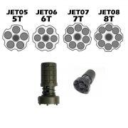Jet Loader para Revolver de 6 tiros, 7 tiros e 8 tiros - Municiador Rápido 38/375