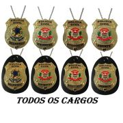 NOVO Distintivos Polícia Civil do Estado de São Paulo - PCESP - Boletim Reg. 155/2017