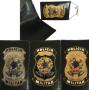 Carteira Distintivo Policia Militar Nacional 2x1 - PM Federal