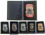 Carteira Polícia Civil Brasão Nacional - PC