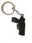 Chaveiro Mini Coldre com Pistola em metal