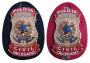 Distintivo Polícia Civil DELEGADO Brasão Nacional *Original*