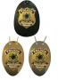 Distintivo Polícia Rodoviária Federal - PRF Modelo Novo Brasão