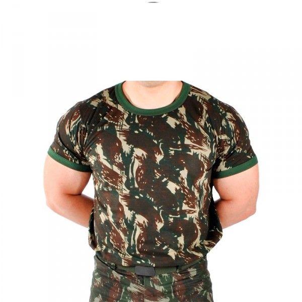 Camiseta Camuflada Selva - Exército Brasileiro