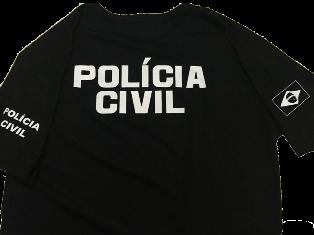 Camiseta POLÍCIA CIVIL Preta