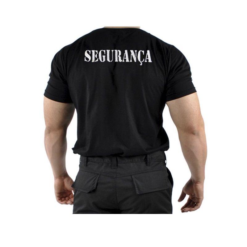 Camiseta Segurança Bordada