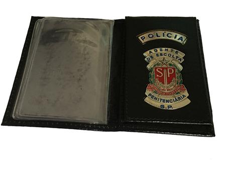 Carteira Agente de Escolta Penitenciária SP - AEVP
