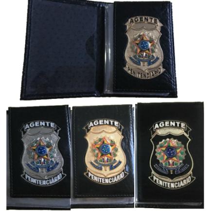 Carteira Agente Penitenciário Nacional - Original