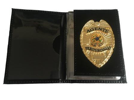 Carteira Agente Penitenciário ou Penitenciária - Agente Masculino e Agente Feminina - Nacional