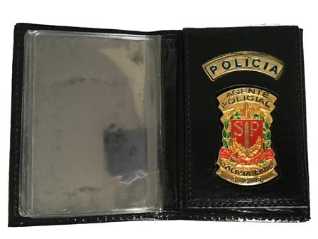 Carteira Agente Policial Civil do Estado de São Paulo - Agente de Policia Civil SP