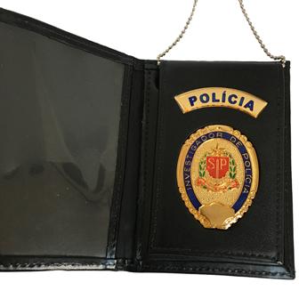 Carteira Distintivo Investigador Policia Civil São Paulo - PCESP