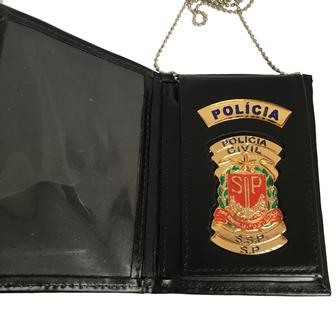 Carteira Distintivo Policia Civil São Paulo - PCESP