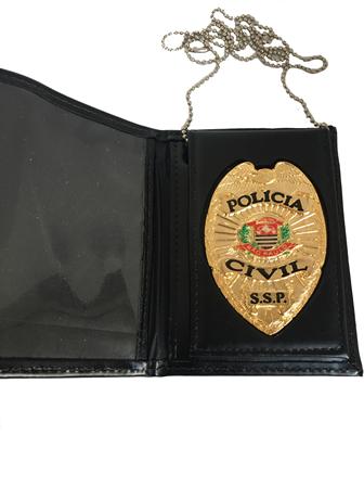 Carteira Distintivo Policia Civil São Paulo - PCESP Águia