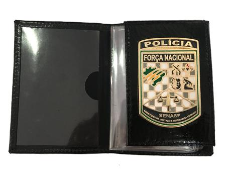 Carteira ou Distintivo Força Nacional - Brasil - Brasão Força Nacional * Novo *