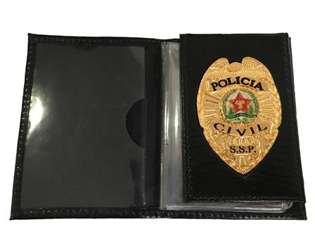 Carteira Policia Civil de Minas Gerais - MG