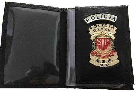 Carteira Polícia Civil do Estado de São Paulo - PCESP
