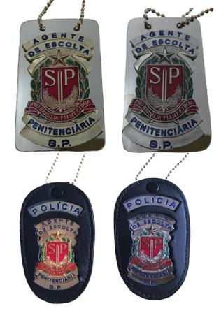 Distintivo Agente de Escolta Penitenciária SP - AEVP
