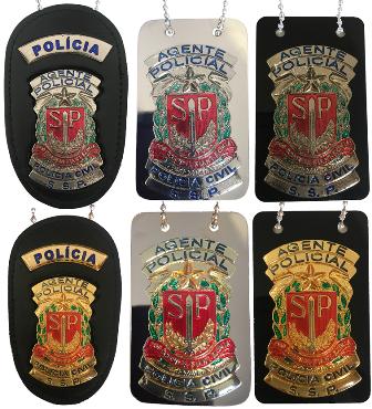 Distintivo Agente de Polícia Civil São Paulo - PCESP