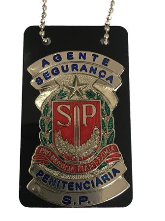 Distintivo Agente de Segurança Penitenciária SP - ASP - SP