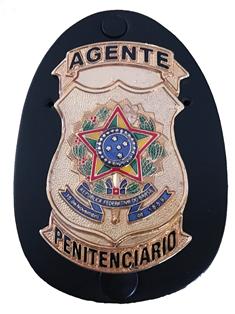 Agente Penitenciário Brasão Nacional
