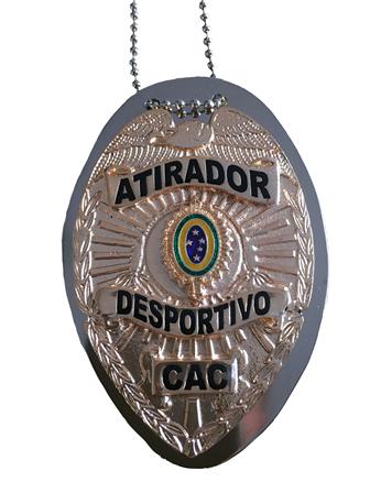 Distintivo Atirador - CAC