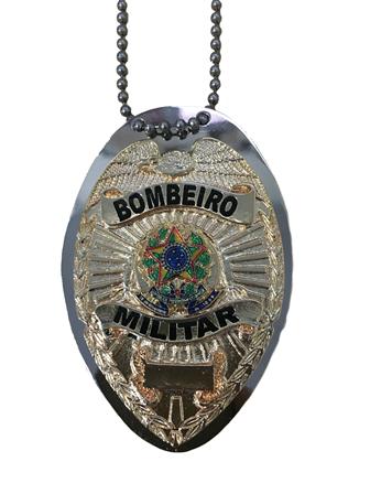 Distintivo Bombeiro Militar - Corpo de Bombeiros