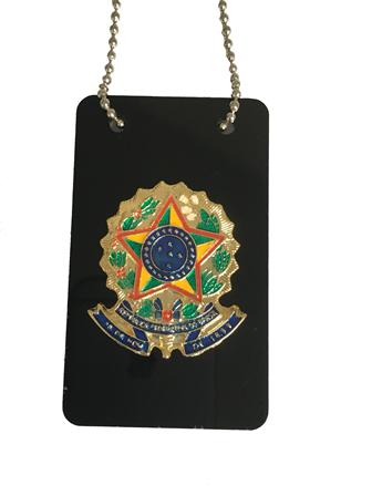 Distintivo Brasão da Republica - Sem Cargo - Brasão Nacional