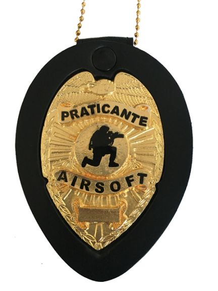 Distintivo e/ ou/ Carteira - Praticante Airsoft - Esporte Airsoft Club