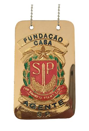 Distintivo Fundação Casa São Paulo - FEBEM