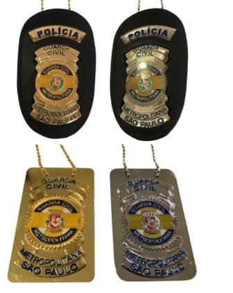 Distintivo GCM São Paulo - Polícia Municipal