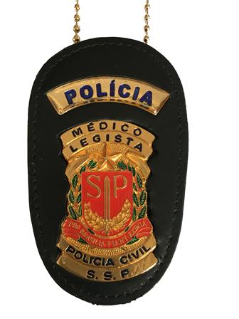 Distintivo Médico Legista Policia Civil de São Paulo - PCESP