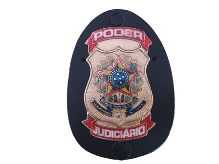 Distintivo Poder Judiciário - Brasão Judiciário Nacional Grande