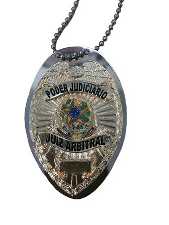 Distintivo Poder Judiciário Juiz Arbitral - Nacional