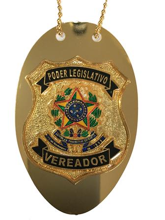 Distintivo Poder Legislativo Vereador - Nacional