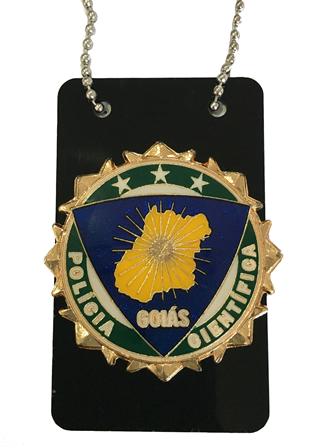 Distintivo Polícia Cientifica Goiás - PERÍCIA - IML - GO