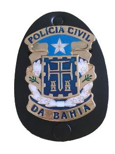 Distintivo Polícia Civil Bahia - PCBA
