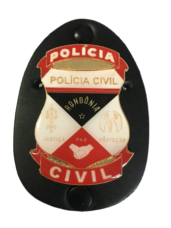 Distintivo Policia Civil de Rondonia - PCRO