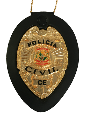 Distintivo Policia Civil do Ceará - CE