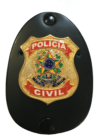 Distintivo Polícia Civil Federal