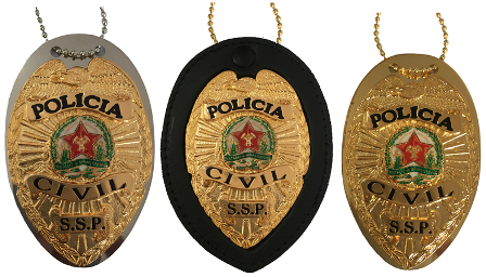 Distintivo Polícia Civil Minas Gerais - Águia - PCMG