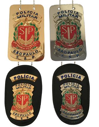 Distintivo Policia Militar São Paulo - PMESP