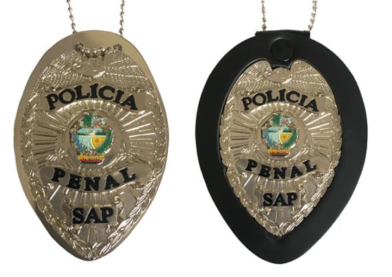 Distintivo Policia Penal Goiás - ASP-GO