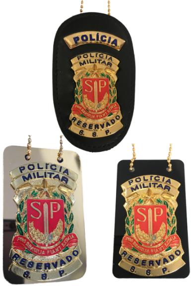 Distintivo Reservado Polícia Militar São Paulo - PMESP