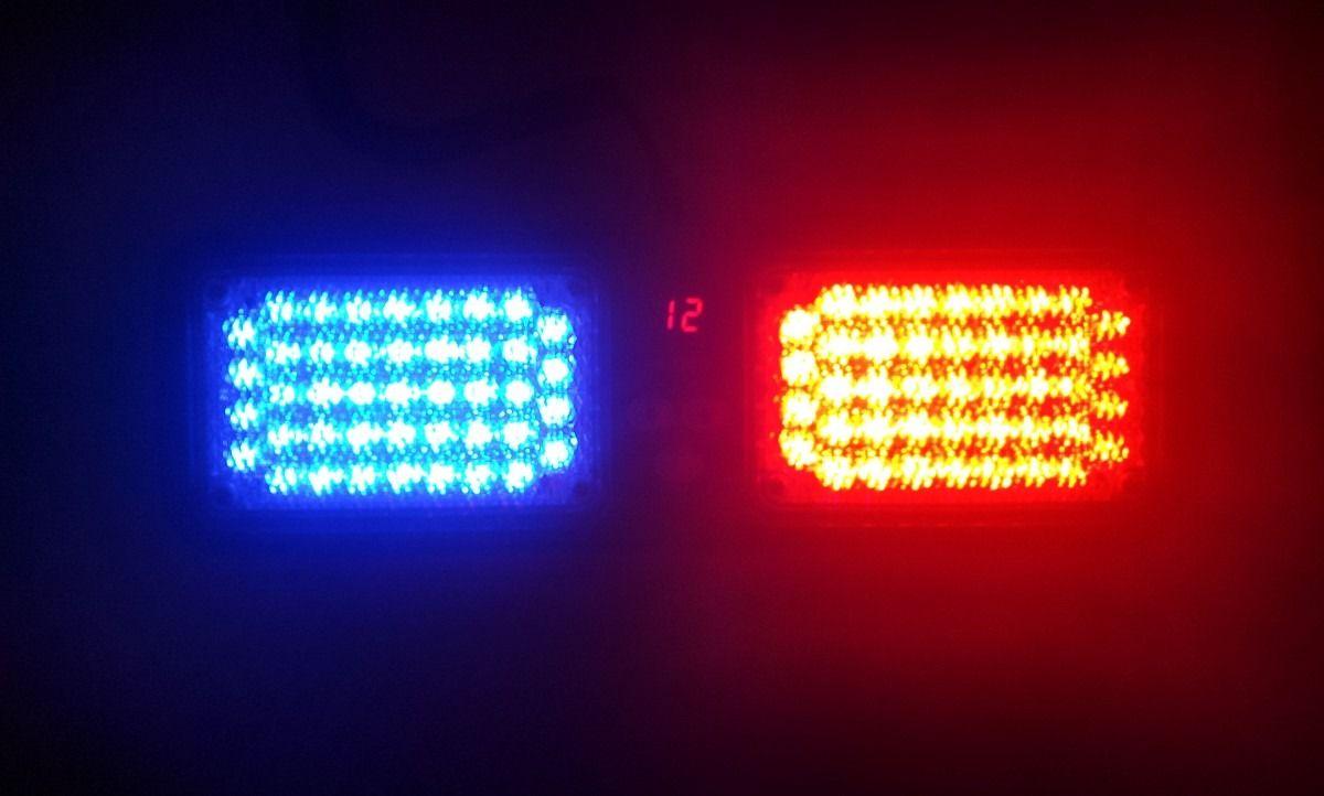 Giroflex Interno Polícia colocação quebra sol veiculo
