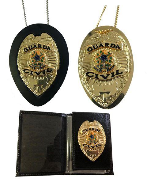 Guarda Civil mod Águia Brasão Nacional