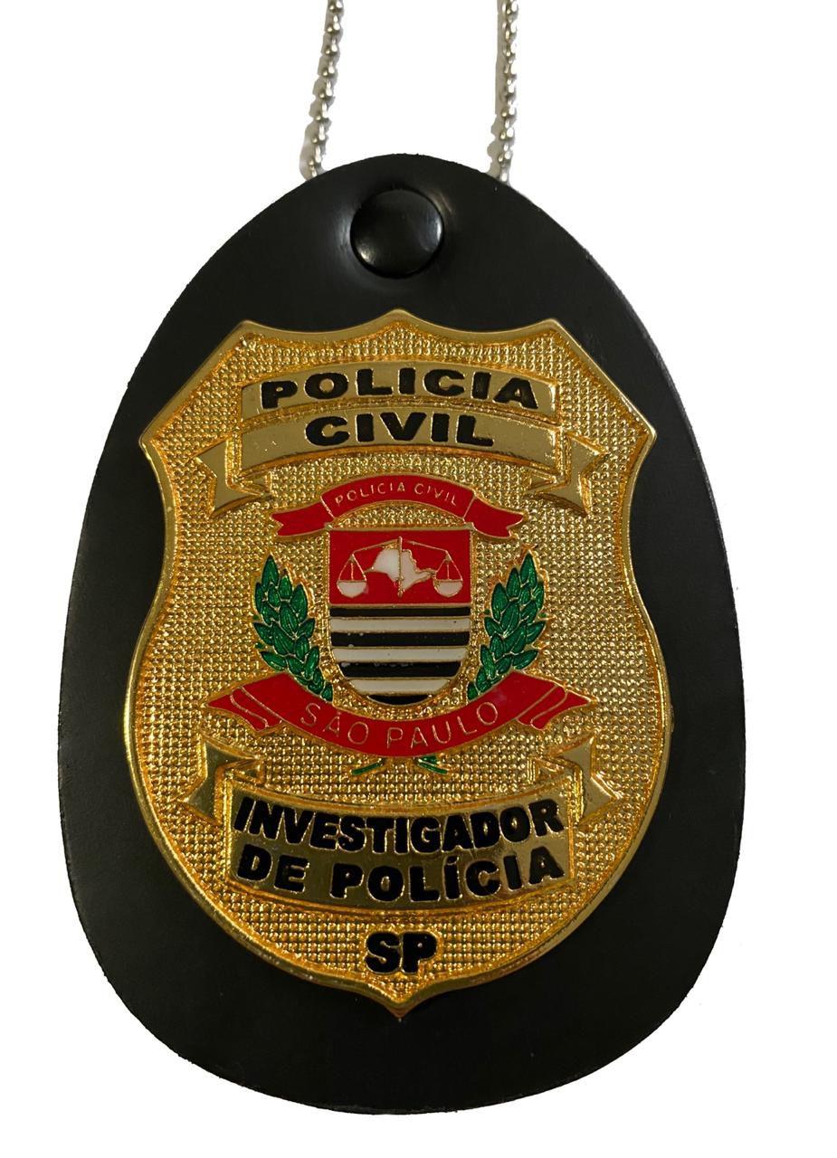 NOVO Distintivos Polícia Civil SP - TODOS CARGOS - PCESP - Boletim Reg. 155/2017