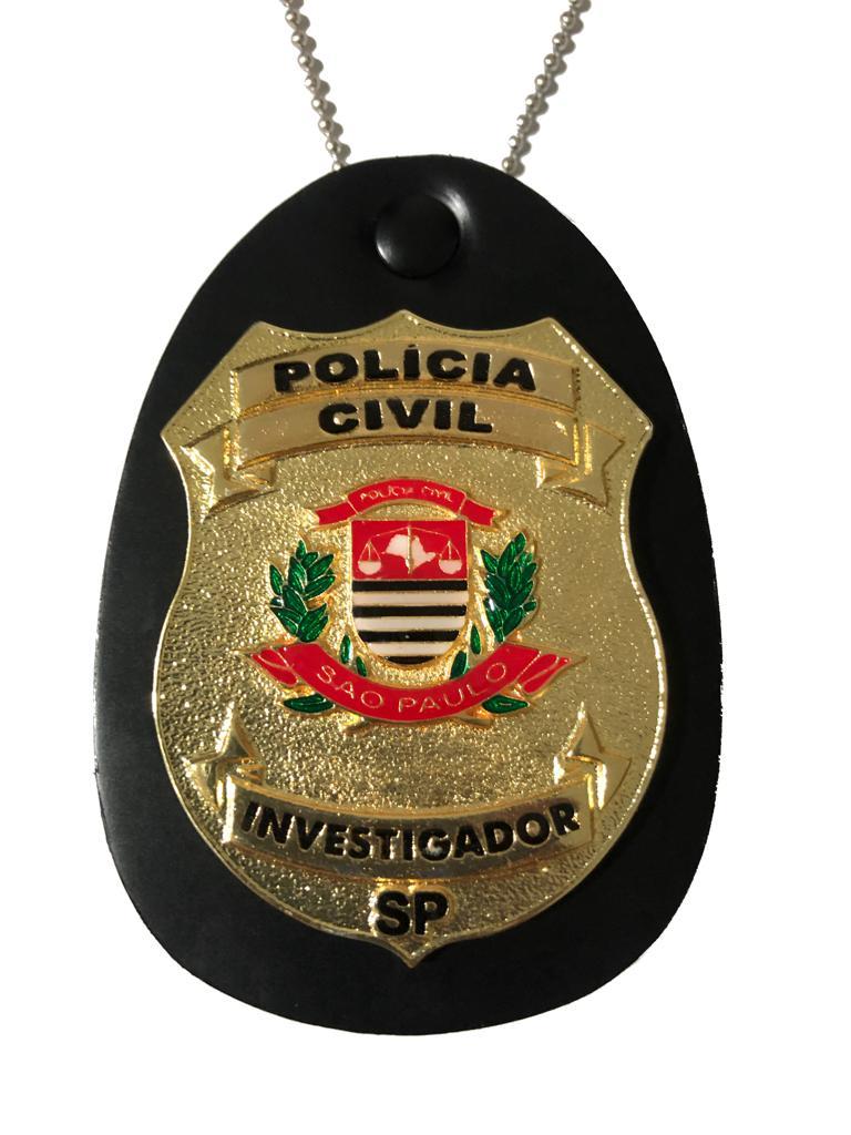 Novos Distintivos Polícia Civil do Estado de São Paulo - PCESP - Boletim Reg. 155/2017
