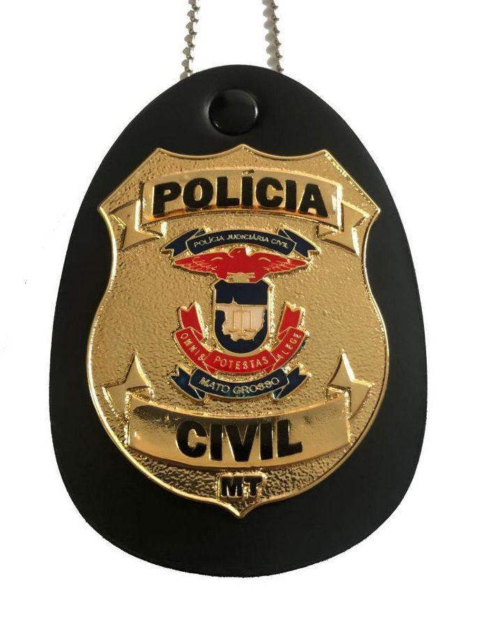 NOVO Distintivo Polícia Civil dos Estados: AC, AM, AP, BA, ES, GO, MA, MT, PA, RO, RS, RR, SC, SE, SP - Resolução Boletim Regimental 155/2017