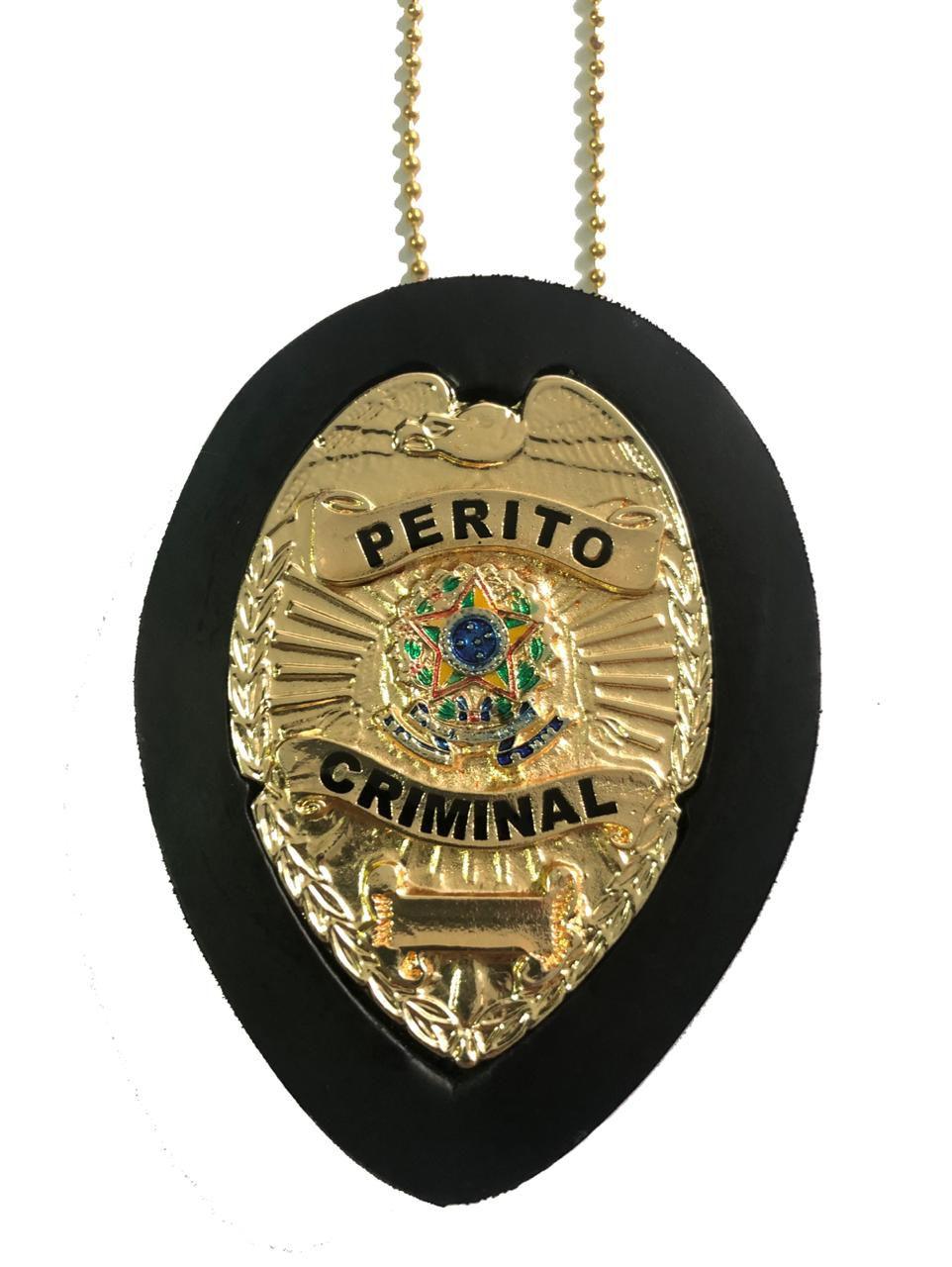 Perito Criminal mod Águia Brasão Nacional