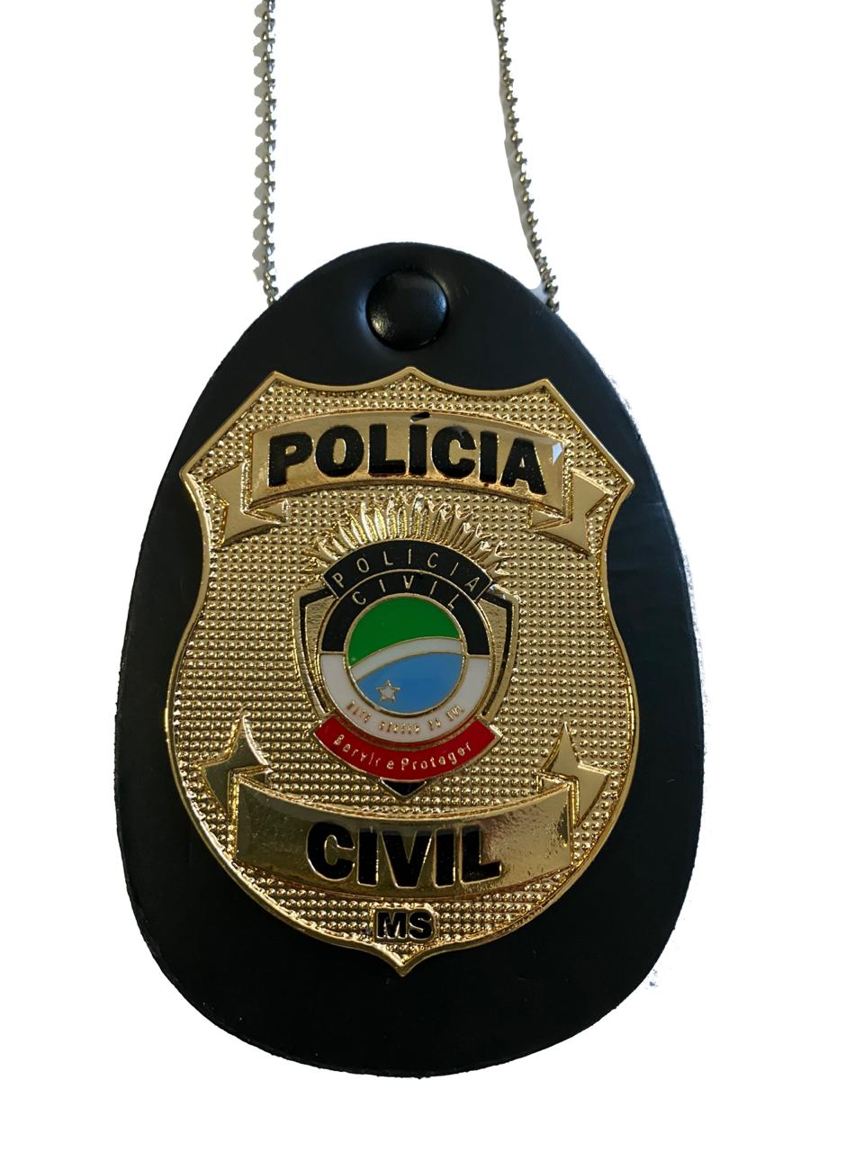 POLÍCIA CIVIL MATO GROSSO DO SUL - PCMS NOVO BRASÃO
